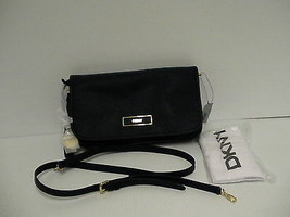 DKNY Donna Karan saffiano leather cross body bag ink color retail - $154.26