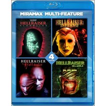 Hellraiser 4 pack: Bloodline / Inferno / Hellseeker / Hellworld [Blu-ray]