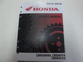 2013 2014 2015 2016 2017 2018 HONDA CBR500R/RA CB500F/FA CB500/XA Servic... - $143.50