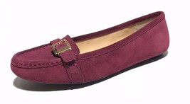Michael Kors Rory Women's(ME16H)Loafers/Moccasins Flats/Leather/Red/Vari... - $49.99