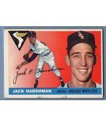Vintage MLB 1955 TOPPS #104 JACK HARSHMAN VG-EX - $8.55