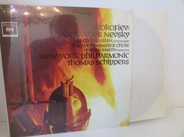 PROKOFIEV: ALEXANDER NEVSKY OP.78 #6306 LILI CHOOKASIAN RECORD ALBUM L114B - $7.79