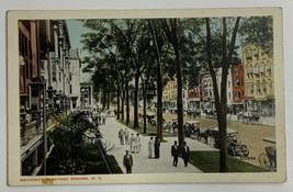 Old Divided Back Era Postcard Broadway Saratoga Springs, New York Unused - $19.55