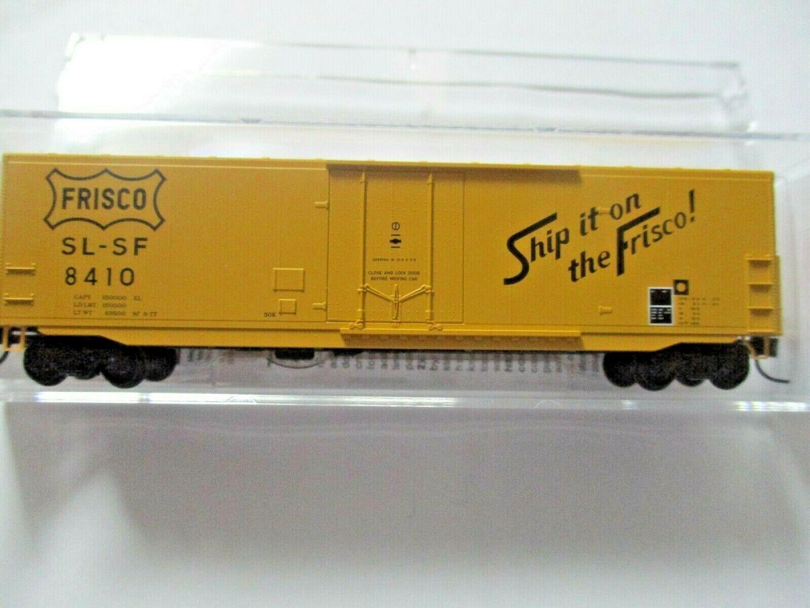 Micro-Trains # 18100180 Frisco 50' Standard Box Car 8' Plug Door N-Scale