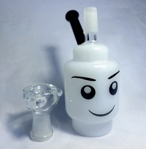 Bubbler Mini Face White - 6 Inches - Bowl Included/ B.E.C.H. - $29.49