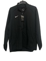 NWT $60 Nike Dri Fit Jacket Full-length zipper 824407-010 XL - $32.71