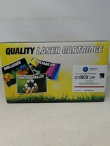 HP 80x Remanufactured CF280X CPP Black New Sealed Quality Laser Cartridge - $18.04