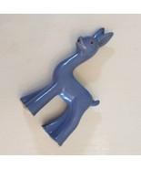 "Shawnee Deer Planter Blue Mid Century Modern ART DECO POTTERY 7"" USA Col... - $19.78"