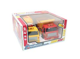 Daesung Toys Dump Truck and Concrete Mixer Car Vehicle Construction Toy 2 Counts image 8