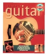 Simply Guitar Boxed Set - Includes Book and DVD [Spiral-bound] - $9.89