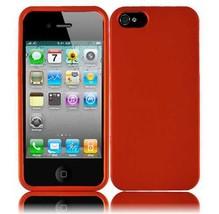 Apple iPhone 5 Rubberized Hard Case - Orange - $5.93
