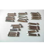 Lot of 25 Vintage Old Carling Beer Metal Can Glass Bottle Openers - $29.70