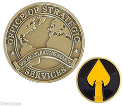 OSS OFFICE OF STRATEGIC SERVICES SPECIAL OPERATIONS BRANCH  CHALLENGE COIN - $27.07