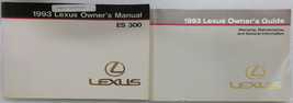 1993 Lexus ES300 Owner's Manual Factory Book Supplement Warranty Mainten... - $2.95