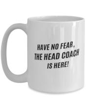 Funny Head Coach Coffee Mug - Head Coach Coffee Cup - 15oz white  - $21.95