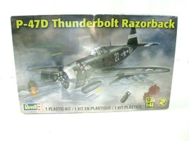 Revell P-47D Thunderbolt Razorback 1:48 Model Skill 2 Military Plane NIP - $23.99