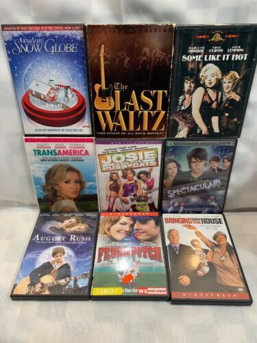 Primary image for (9 DVD Lot) Last Waltz Some Like It Hot Trans America Josie Pussycats