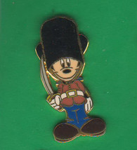 Palace Guard Mickey Mouse Authentic  Disneyland Great Britain.Pin - $24.99