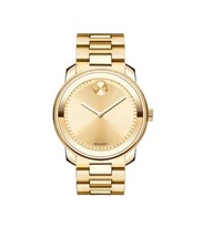 Movado Bold Champagne Dial Yellow Gold-plated Men's Watch 3600258 - $689.40 CAD