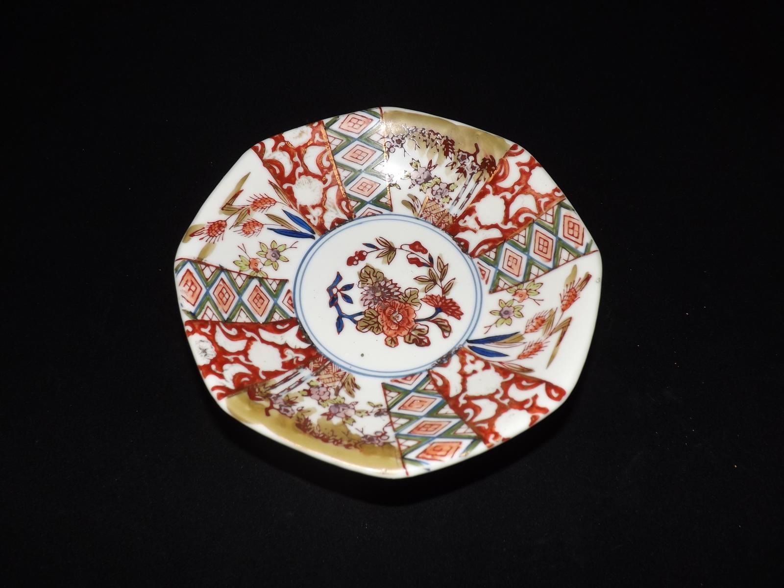 Old Handpainted Imari Bowl
