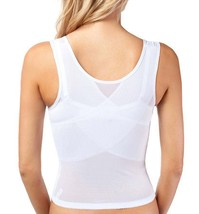 NEW WOMEN'S PREMIUM SUPPORT SHAPEWEAR WAIST SLIMMING CORSET WHITE #7713 size M image 2