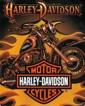 Harley-Davidson Heavyweight Blanket, Sunset - $64.35
