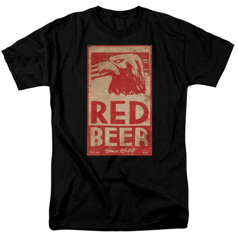 Archer t-shirt Red Beer animated TV comedy sitcom graphic tee TCF629
