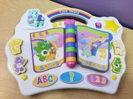 2004 Care Bears Story Book Musical Interactive Learning Toy ABC & Number... - $19.48