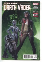 Star Wars Darth Vader 3 Marvel 2016 NM- 1st Doctor Aphra 4th Print Purpl... - $14.85