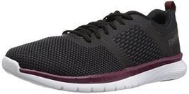 Reebok Men's PT Prime Runner Running Shoe, Black/Coal/ash Grey/Rust, 8.5 M US