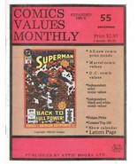 Comics Book Value Monthly 55 F-VF Attic Books December 1990 - $4.95