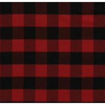 Pendleton Home Rob Roy Red Buffalo Plaid fleece Throw Blanket 50 X 70 - $67.88