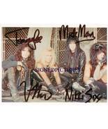 MOTLEY CRUE GROUP BAND SIGNED AUTOGRAPHED 8x10 RP PHOTO BY ALL - $16.99