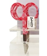 "Coral Sunburst Scissors 3.5"" Embroidery Scissors cross stitch accessory  - $5.00"