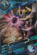 Bandai Digimon Fusion Xros Wars Data Carddass SP ED 1 Rare Card Darkknig... - $16.99