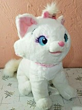 Disney Store Aristocats Sitting Marie White Cat Plush Stuffed Toy Doll 1... - $29.70