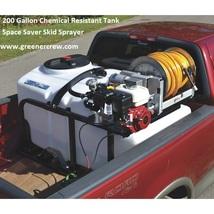 200 Gallon Space Saver Skid Sprayer Chemical Resistant Tank - $4,597.00