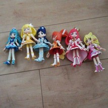Lot of 6 Pretty Cure Precure Figure Doll set Used Good condition - $155.99