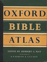 Oxford Bible Atlas [Paperback] Herbert G. May, ed.