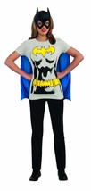 Rubies DC Comics Bat Girl Batman Adult Womens Halloween Costume Shirt 88... - $22.76