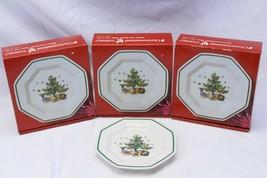 "Nikko Christmastime Bread Plates 6.5"" Lot of 12 - $97.02"