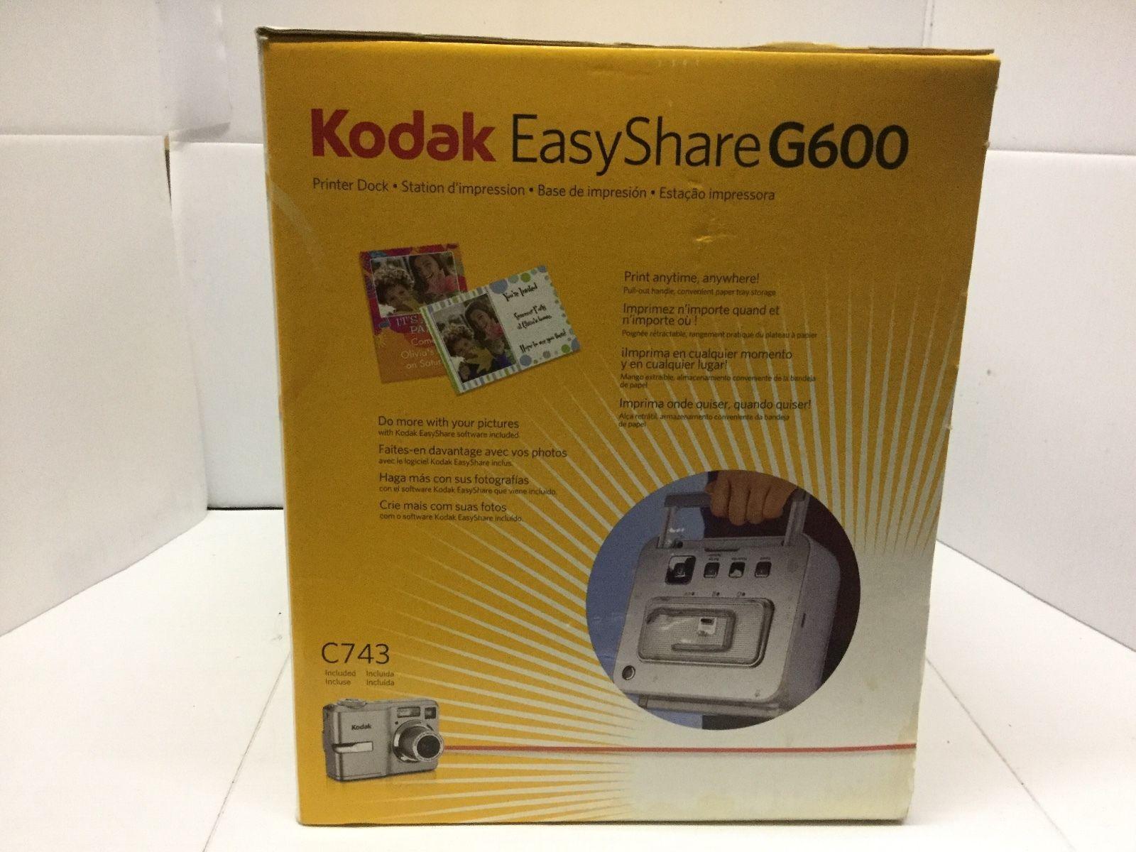 Kodak Easy Share Printer Dock G600 (no and 44 similar items