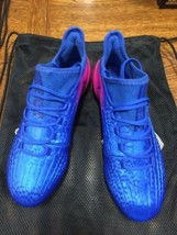 adidas x 16.1 fg Blue Pink White Size 10.5 Only - $160.38