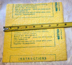Datex, Inc. Industrial Chemicals Advertising WETTEX Chamois Cloth Chattanooga image 2