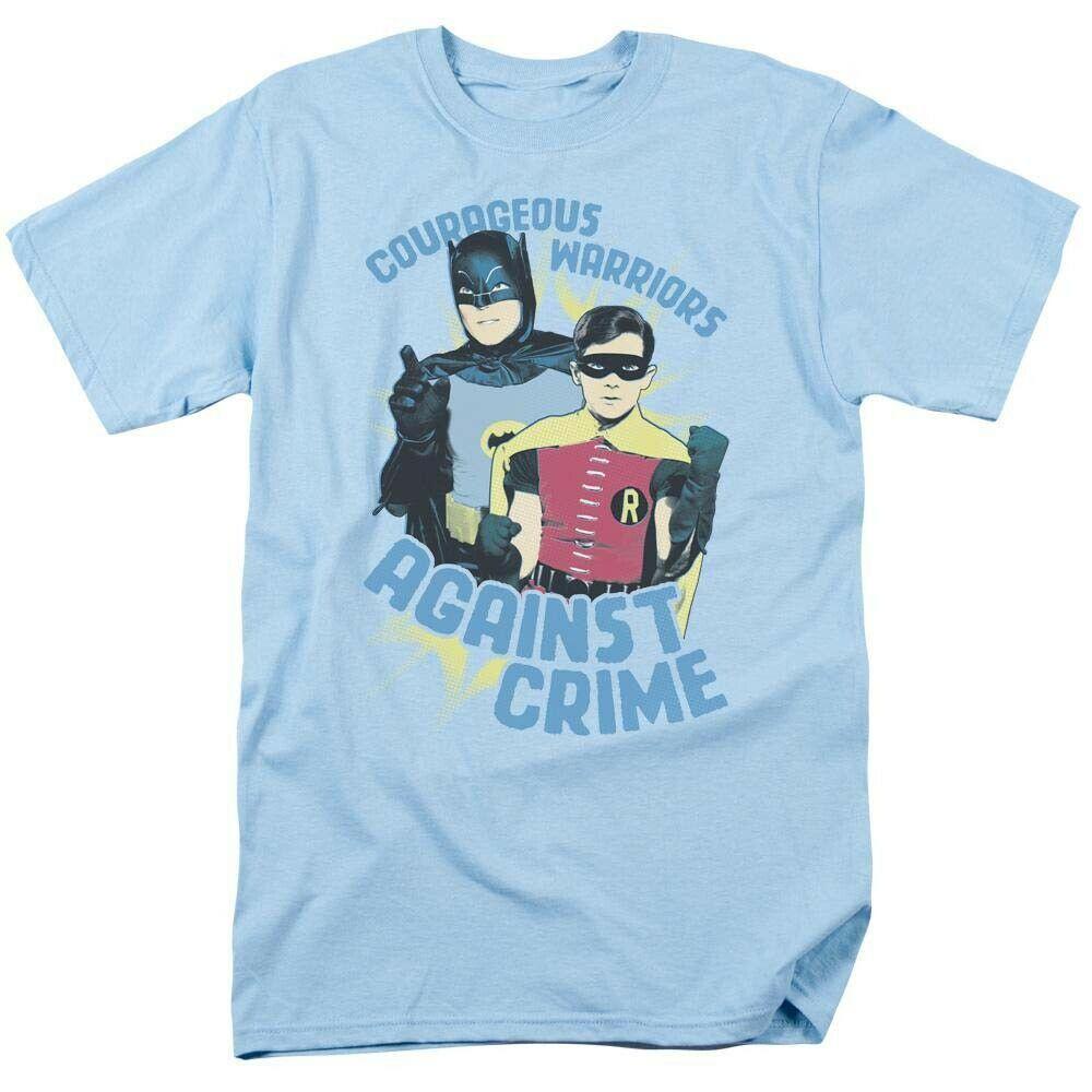 Batman and Robin TV Show T Shirt vintage DC Comics Adam West BMT107