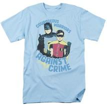 Batman and Robin TV Show T Shirt vintage DC Comics Adam West BMT107 image 1