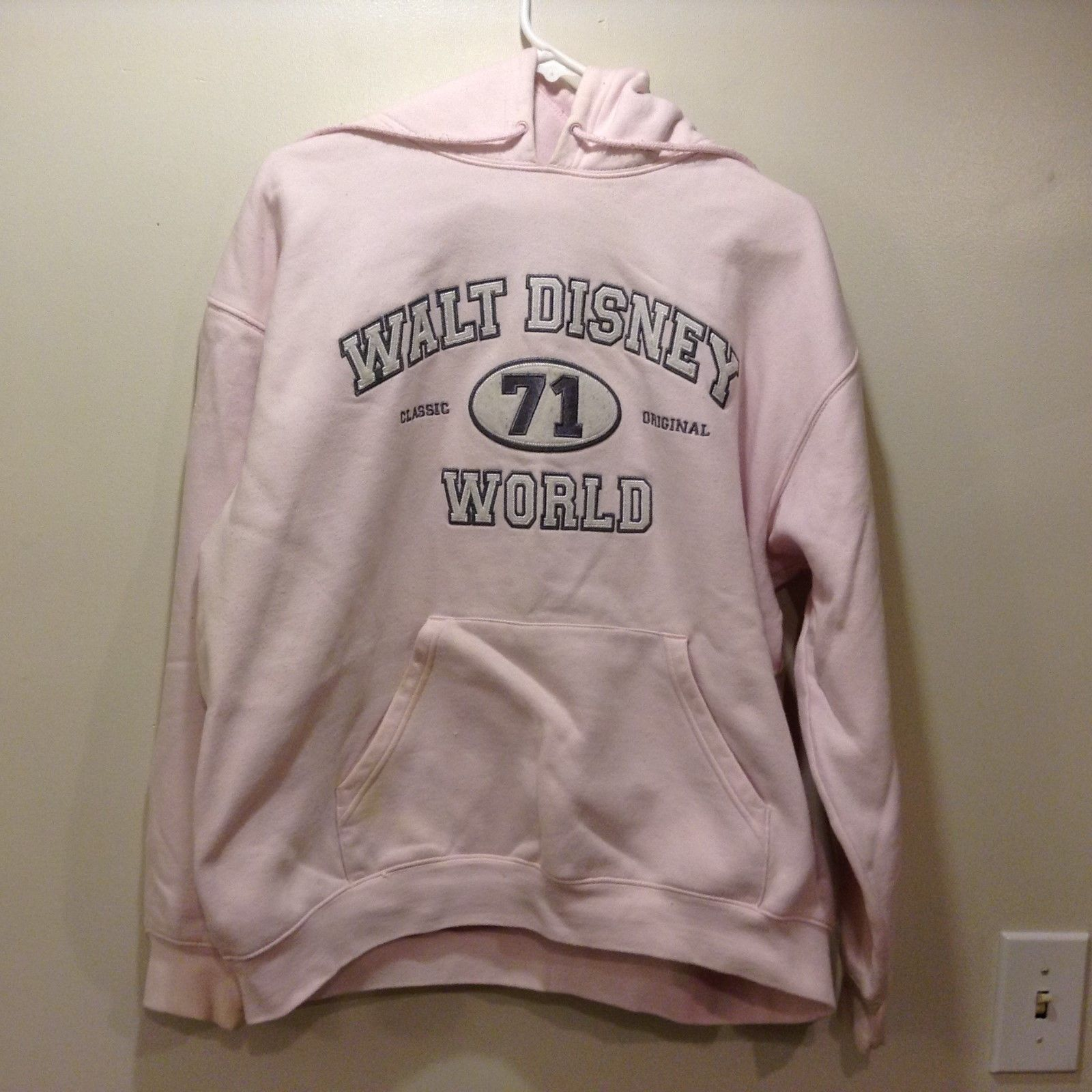 Walt Disney World Women's Pink Hoodie Sz L