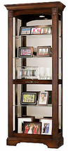 Howard Miller 680-420 (680420) Ricardo Lighted Curio Cabinet - Hampton C... - £857.61 GBP