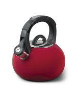 Mr. Coffee Piper Shine 2 Quart Stainless Steel Tea Kettle in Red - $39.72