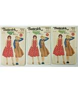 Vintage Butterick Sewing Pattern Women's 5910 Misses' Jumper 6 Piece Tem... - $7.11